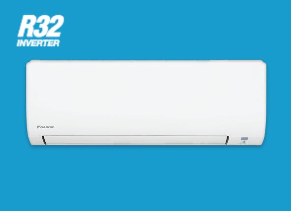 Cục bộ treo tường Daikin 1 chiều inverter gas R32 9.000Btu/h
