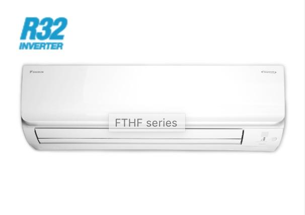Cục bộ treo tường Daikin 2 chiều inverter gas R32 18.000Btu/h