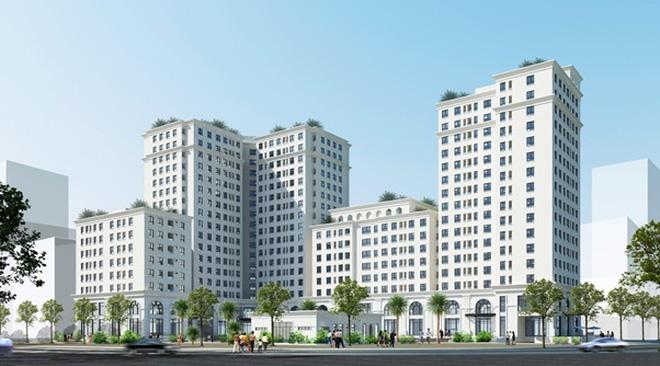 Chung cư cao cấp, Trung tâm thương mại Ecocity - Việt Hưng - Long Biên - Hà Nội