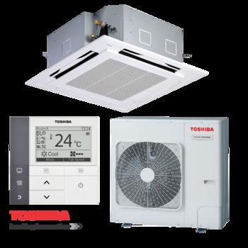 Điều hòa Cassette Toshiba 2 chiều Inverter 41.000Btu/h