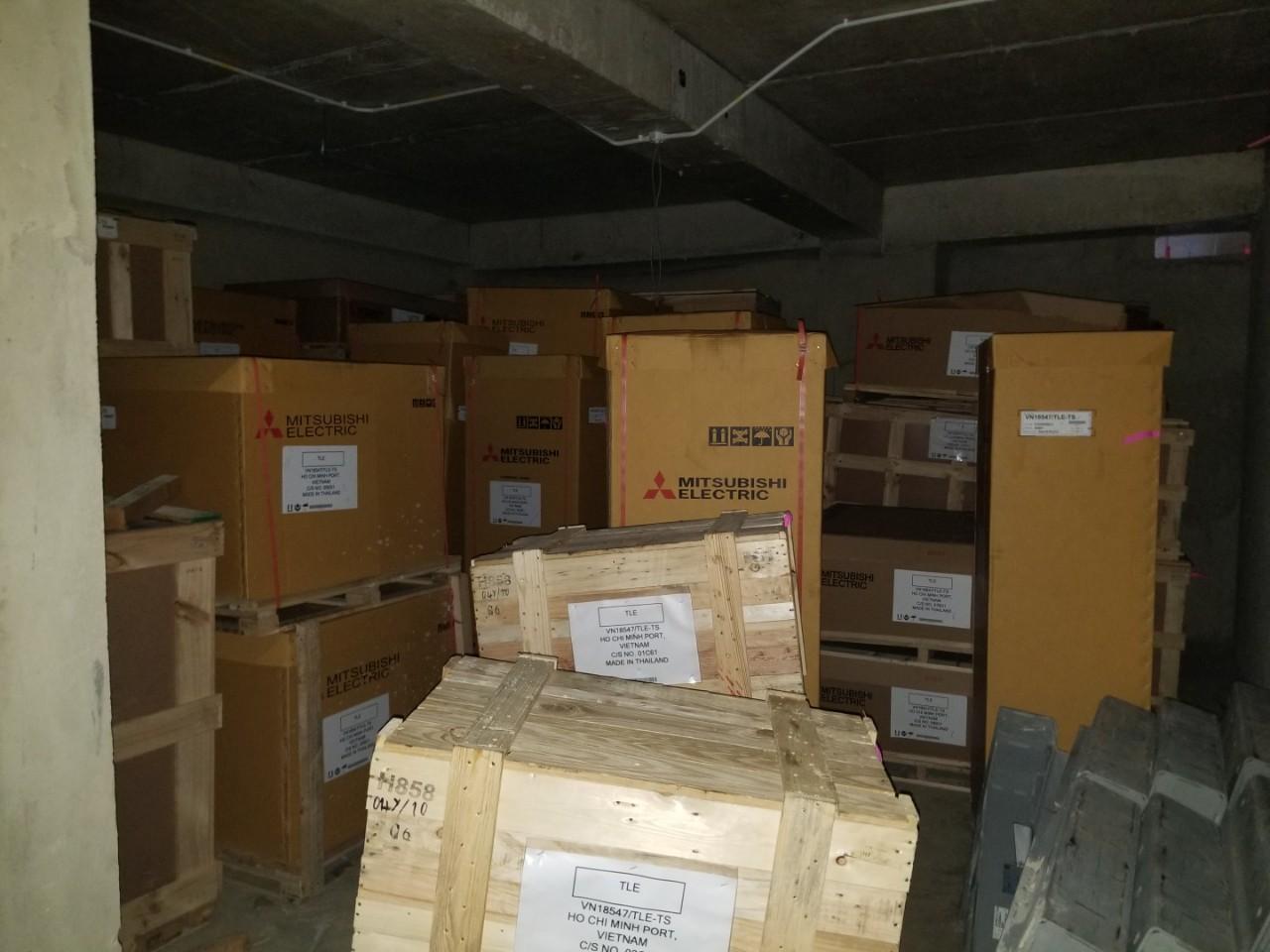 Cung cấp và lắp đặt hệ thống thang máy công trình Công an tỉnh Bình Dương