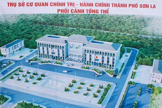 Dự án - Trụ sở cơ quan hành chính - Thành Phố Sơn La
