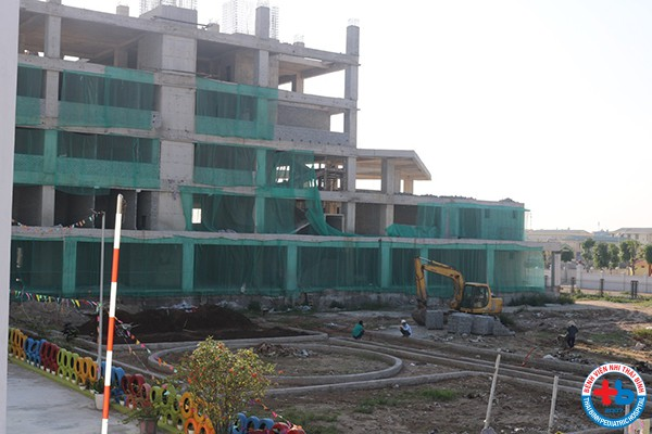 The Project of Building 3 - Thai Binh Pediatric Hospital