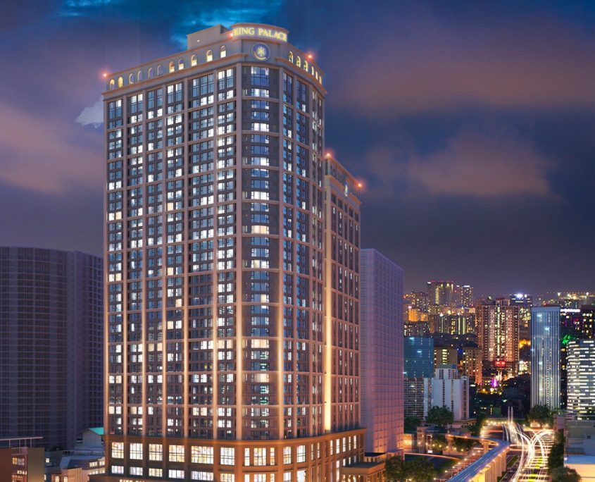 Providing Chiller, FCU, VRF, Local air conditioner King Palace project 108 Nguyen Trai