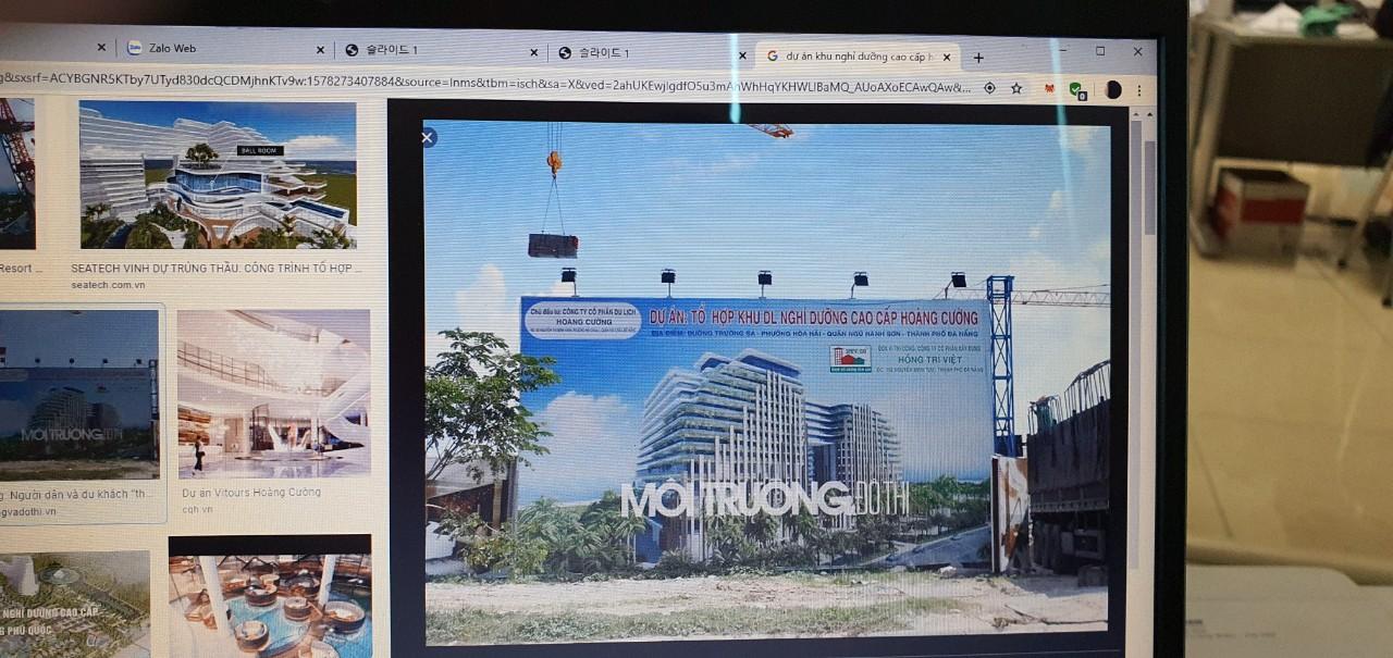 Dự án - Khu nghỉ dưỡng Cao cấp - Hoàng Cường - Đà Nẵng